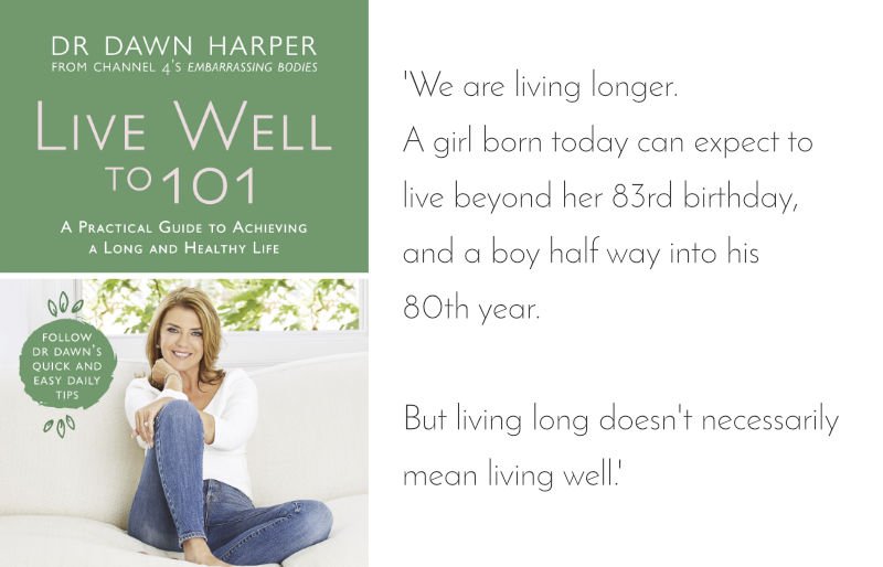 Dr Dawn's New Book Live Well to 101